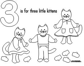 100 day activities all about me magic kitten coloring pages three little
