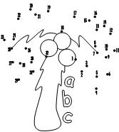 Chicka Chicka Boom Boom Coloring Pages - Coloring Home | 186x167