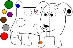 photograph about Dog's Colorful Day Printable identified as Pleasurable Discovering Printables for Children