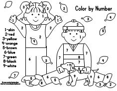 math worksheet : making learning fun  free early learning printables : Color By Numbers Worksheets For Kindergarten