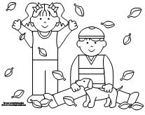 coloring pages fall themed | Emergent Reader Listing Printabl