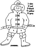busy firefighter coloring pages | Emergent Reader Listing Printabl