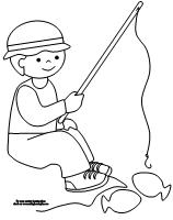 making learning fun camping and fishing coloring pages