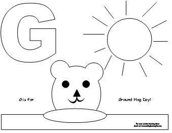 making learning fun groundhog coloring pages