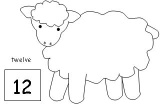 "... for ""Printable Sheep Templates Cotton Balls"" – Calendar 2015"