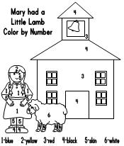 Mary Had A Little Lamb Fun Learning Printables For Kids