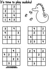 Making Learning Fun Ocean 4x4 Sudoku