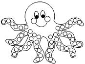 photograph about Octopus Template Printable titled Enjoyable Mastering Printables for Youngsters