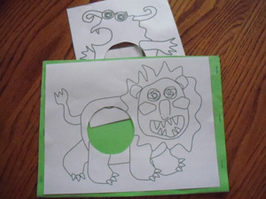 monster worksheets
