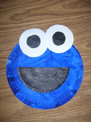 Cookie Monster Paper Plate Project & Cookie Monster Paper Plate Proje