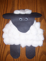& Sheep Paper Plate Projects