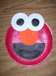 Elmo Paper Plate Project & Elmo Paper Plate Project For