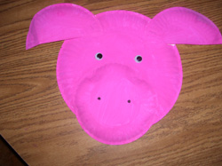 Pig Paper Plate Project & Pig Paper Plate Project For t