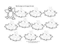 Math Ideas For Penguin Theme P