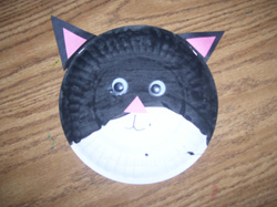 Cat Paper Plate & Cat Paper Plate Have the chil