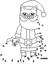 Making Learning Fun | Pete the Cat Chirstmas Dot to Dot