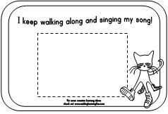coloring pages for pete the cat