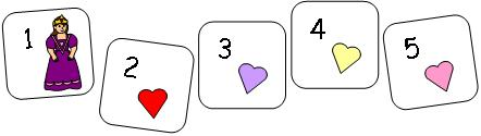 How Many Hearts Coloring Page Calendar Number For Queen Of
