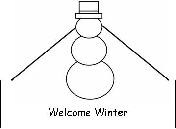 Welcome Winter Hat Print the