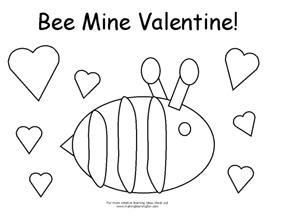 Coloring Pages For Valentines Da