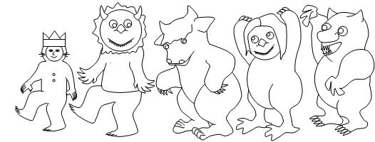 Coloring Pages For Wild Things