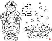 dot marker coloring pages Fun Learning Printables for Kids dot marker coloring pages